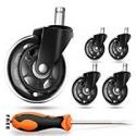 Deals List: Coowoo Office Chair Caster Wheels Set of 5