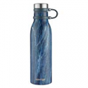 Deals List: Contigo Couture Vacuum-Insulated Stainless Steel Water Bottle, 20 oz, Blue Slate