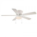Deals List: Hugger 52 in. LED Indoor Ceiling Fan w/Light Kit