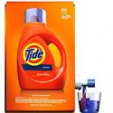 Deals List: Tide Laundry Detergent Liquid, Original Scent, HE Turbo Clean, 100 oz, 64 Loads