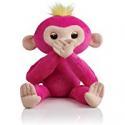 Deals List: Fingerlings HUGS - Bella (Pink) - Advanced Interactive Plush Baby Monkey Pet - by WowWee
