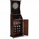 Deals List: Barrington Bristle Dartboard Cabinet with Wine Storage & LED Lights