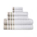 Deals List: 3-PK Home Expressions Solid or Stripe 6pcs Bath Towel Collection