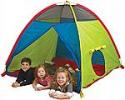 "Deals List: Pacific Play Tents Super Duper 4 Kids Playhouse Tent (58"" x 58"" x 46"")"