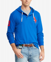 Deals List: Polo Ralph Lauren Men's Mesh Hoodie (Blue Saturn)