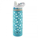 Deals List: Contigo AUTOSPOUT Straw Ashland Glass Water Bottle, 20 oz, Scuba