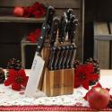 Deals List: The Pioneer Woman Cowboy Rustic 14-Piece Black Cutlery Set w/ Wood Block