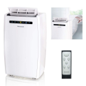 Deals List: Honeywell MN10CESWW 10000 BTU Portable Conditioner, Dehumidifier & Fan for Rooms Up to 350-450 Sq. Ft. with Thermal Overload Protection, Washable Air Filter & Remote Control, White