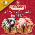 Deals List: $100 Cold Stone Creamery Gift Card Email Delivery