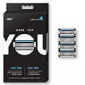 Deals List: Made for YOU by BIC Shaving Razor Blades 4-Count