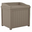 Deals List: Suncast 22 Gal. Taupe Small Storage Seat Deck Box