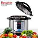 Deals List: Becooker Programmable Electric Pressure Cooker 8 Qt