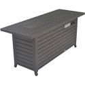 "Deals List: Legacy Heating CDFP-S-CB-M Aluminum fire Table, 56.7""X21.3""X24"", MOCHA"