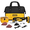 Deals List: DEWALT XR 28-Piece Cordless 20-V Oscillating Tool Kit DCS355D1