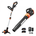Deals List: WORX WG921 20V PowerShare Grass Trimmer w/Blower Refurb