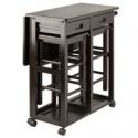 Deals List: Winsome Wood Suzanne 3-Piece Space Saver Set