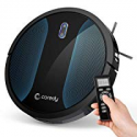 Deals List: Coredy Robot Vacuum Cleaner, Fully Upgraded, Boundary Strip Supported, 360° Smart Sensor Protection, 1400pa Max Suction, Super Quiet, Self-Charge Robotic Vacuum, Cleans Pet Fur, Hard Floor to Carpet