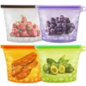 Deals List: 4-Pack Leson Reusable Silicone Food Bag