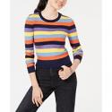 Deals List: Freshman Juniors Striped Rib-Knit Sweater