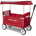 Deals List: Radio Flyer 3-In-1 EZ Fold Wagon with Canopy Ride On, Red