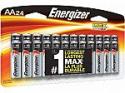 Deals List: 24-pk Energizer AA or AAA Triple A Max Alkaline Batteries