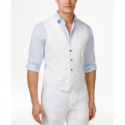 Deals List: Tasso Elba Mens 100% Linen Vest