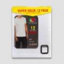 Deals List: 12-Pack Fruit of the Loom Men's Super Value Crew T-Shirt