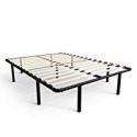 Deals List: Zinus Cynthia 14 Inch MyEuro SmartBase / Wooden Slat / Mattress Foundation / Platform Bed Frame / Box Spring Replacement, Full