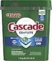 Deals List: Cascade Complete ActionPacs Dishwasher Detergent, Fresh Scent, 78 Count