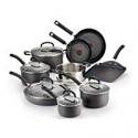 Deals List: T-fal Ultimate Hard Anodized 14-Pc Cookware Set Open Box