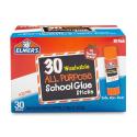 Deals List: Elmer's All Purpose School Glue Sticks, Washable, 7 Gram, 30 Count