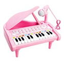 Deals List: Piano Toy 24 Keyboard for Kids Birthday Gift Pink Music Instruments