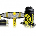 Deals List: Spikeball Game Set - Played Outdoors, Indoors, Lawn, Yard, Beach, Tailgate, Park - Includes 1 Ball, Drawstring Bag, and Rule Book - Game for Boys, Girls, Teens, Adults, Family