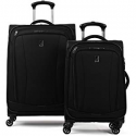 "Deals List: Travelpro Citadel Deluxe 20"" and 24"" Hardside Spinner Luggage Set, Gun Metal Gray"