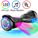 Deals List: TOMOLOO Music-Rhythmed Hover Board for Kids and Adult Two-Wheel Self-Balancing Scooter- UL2272 Certificated with Music Speaker- Colorful RGB LED Light (K1)