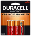 Deals List: Duracell - Quantum AA Alkaline Batteries - long lasting, all-purpose Double A battery for household and business - 6 count