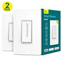 Deals List: 2-PK Treatlife Smart Dimmer Switch Dimmable LED w/Alexa
