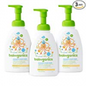 Deals List: Babyganics Baby Shampoo and Body Wash, Fragrance Free, 3 Pack