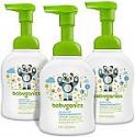 Deals List: Babyganics Alcohol-Free Foaming Hand Sanitizer, Fragrance Free, 8.45oz Pump Bottle (Pack of 3)
