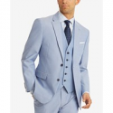 Deals List: Tommy Hilfiger Modern-Fit TH Flex Stretch Chambray Suit Jacket