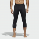 Deals List: adidas Alphaskin Men's 3/4 Length Sport Tights (Black)