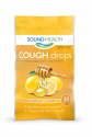Deals List: SoundHealth Honey Lemon Cough Drops, Lozenge, Cough Suppressant, 30 Count Single Bag