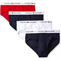 Deals List: 4-Pack Tommy Hilfiger Men's Underwear Multipack Cotton Briefs
