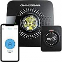 Deals List: MyQ Smart Garage Door Opener Chamberlain MYQ-G0301 - Wireless & Wi-Fi enabled Garage Hub with Smartphone Control