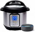 Deals List: Instant Pot Smart WiFi 6 Quart Multi-use Electric Pressure with Echo Dot (3rd Gen) - Charcoal