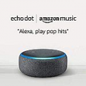 Deals List: Echo Dot (3rd Gen) Smart Speaker + 6-Months Amazon Music Unlimited