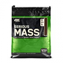 Deals List: OPTIMUM NUTRITION Serious Mass Weight Gainer Protein Powder, Chocolate, 12 Pound