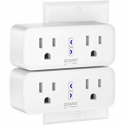 Deals List: Smart plug, Gosund Mini Wifi Outlet Works With Alexa, Google Home & IFTTT, No Hub Required, Remote Control Your Home Appliances from Anywhere, ETL Certified,Only Supports 2.4GHz Network(4 Pieces)