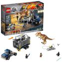 Deals List: LEGO Jurassic World T. rex Transport 75933 Dinosaur Play Set with Toy Truck (609 Pieces)