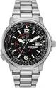 Deals List: Seiko SNA411 Flight Chronograph Steel Black Dial Men's Watch
